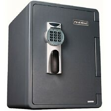 First Alert 2096DF 2.1 Cubic Foot Water Fire and Theft Digital Safe Lock Box