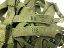 US Military Army GI Sleeping Bag Carry/Carrying Canvas/Cotton Web Straps