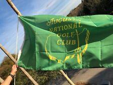 "Green Augusta National Golf Club Stadium Flag 36"" x 60 "" 2019 Masters"