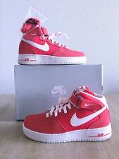 Nike Air force 1 Mid 07' Fusion red Size 7US/40EU/6UK