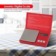 Portable 0.01 g/ 500 g Digital LCD Balance Weight  Pocket Jewelry Diamond Scale