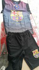 Camiseta y pantalón Barça FC Barcelona talla 116 niño conjunto poliéster