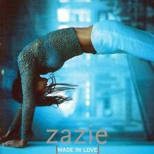 CD audio.../....ZAZIE..../....MADE IN LOVE....