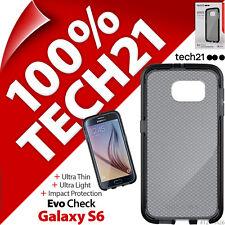 Tech21 Verificación de Evo Funda Ultrafina Ligera Humo / Negro para Samsung