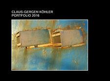 PORTFOLIO 2016 von CLAUS-GERGEN KÖHLER