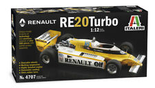 Renault RE 20 Turbo F1 René Arnoux 1:12 Model Kit Bausatz Italeri 4707