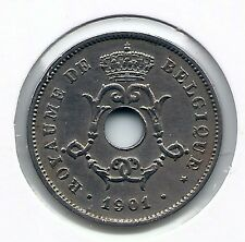10 cent 1901 frans * Prachtig / FDC * LEOPOLD II * nr 6914