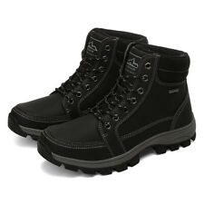 New US Mens Winter Work Snow Boots Warm Lined Shoes Waterproof Outdoor Hiking