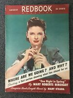 August 1941 REDBOOK Magazine - Women's Interest