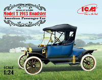 1/24 Assembly kit model Model T 1913 Roadster, American Passenger Car (ICM)