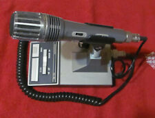 Kenwood MC-60A desk microphone, dual impedance, amplified
