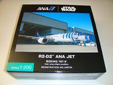 "1/200 Hogan ANA x STAR WARS Official B787-9 ""R2-D2"" JA873A NH20091"