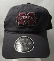 Mississippi State Raven NCAA Trucker Snapback Black/Purple Zephyr Cap Hat New