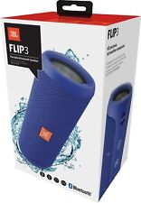 CASSA PORTATILE SPEAKER BLUETOOTH WIRELESS JBL FLIP 3 BLU IMPERMEABILE