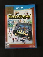 Nintendo Land Nintendo Selects (Nintendo Wii U, 2016) Brand New Factory Sealed