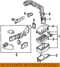 FORD OEM 92-94 Ranger Air Cleaner Intake-Outlet Vent Duct Tube Hose F37Z9B659H