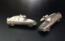 Citroen Bx  3D cufflinks classic car pewter effect ref46