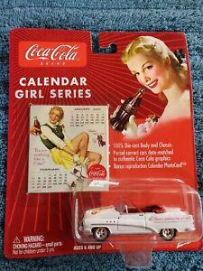 Johnny Lightning Calendar Girl Series #7 '53 1953 Buick Super NIB! 2003