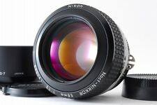 """Exc++"" Nikon Ai-s Noct NIKKOR 58mm F/1.2 w/ HS-7 Free Shipping From Japan B112"