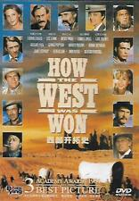 How The West Was Won DVD Carroll Baker James Stewart Karl Malden 1962 R0