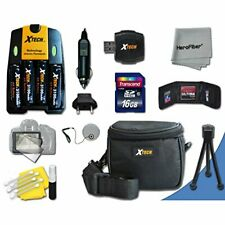 Ideal Accessory Kit for Powershot SX160 IS Digital Cameras Includes 16GB Memory