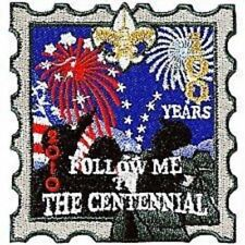 BOY SCOUT FOLLOW ME TO THE CENTENNIAL 100 YEARS 2010  ANNIVERSARY SERIAL# PATCH