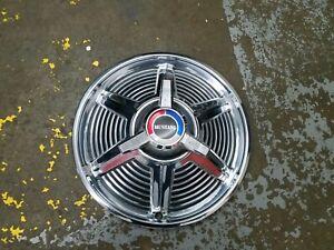 "Ford OEM 1964 1965 Mustang Chrome Metal 14"" Spinner Hubcap Hub Cap Wheel Cover"