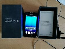 Samsung Galaxy S II GT-I9100 - 16GB - Noble Black (Unlocked) with charger