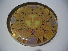 """Hermes Paris Vintage Authentic Rare Signed Paperweight Paris 4"""" In Diam"""