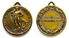 Medaglia Unità D'Italia Centenario 1861-1961 – Venezia 1961 Bronzo cm 2,8