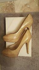 $700 NEW Jimmy Choo Crocodile Heels Platform Shoes Size 39.5 9.5 M