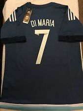 ARGENTINA DI MARIA AWAY SOCCER JERSEY BARCELONA REAL MADRID MEXICO AMERICA USA
