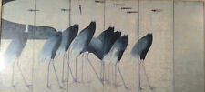 Kiitsu Suzuki Demoiselle Cranes signed in Print