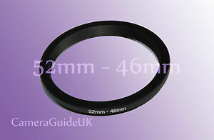 52mm to 46mm Male-Female Stepping Step Down Filter Ring Adapter 52mm-46mm