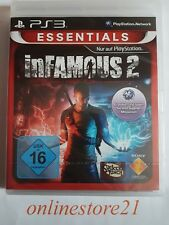 Infamous 2 PLAYSTATION 3 NUOVO ps3