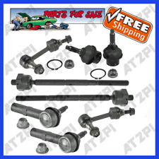 Steering Kit Tie Rod End Lower Ball Joint Sway Bar Link For Lincoln Navigator