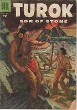 Dell Comics Turok Son Of Stone Volume One (1956 Series) #5 VG- 3.5