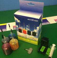 INK Cartridge REFILL KIT HP Envy 4520 4522 4523 4524 4527 Officejet 3830 3831