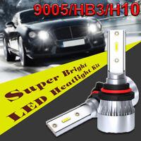 Coppia 9005/HB3/H10 60W 6000LM LED Faro Kit Di Conversione Lampadine Fascio Auto