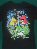 Angry Birds t-shirt Size 4-5 XS 6-7 S 8 M 10-12 L 14-16 New Short Sleeve