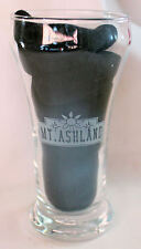 Mt Ashland Oregon Oktoberfest 2001 Half Pint Beer Glass Etched Design