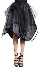 Knielange schwingende Damenröcke aus Polyester für Party-Anlässe