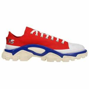 adidas Raf Simons Detroit Runner Lace Up  Mens  Sneakers Shoes Casual   - Red -