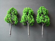 LARGE PINE TREES 10cm. 3 - Pack  -  War Gaming.1/72,1/76 20mm Scale-GPT3