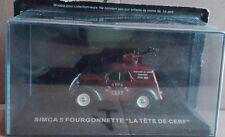 """DIE CAST """" SIMCA 5 FOURGONNETTE LA TETE DE CERF """" SCALA  1/43"""