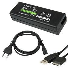 Caricabatterie Alimentatore Da Rete Fissa Per Console Psp Go 5V hsb