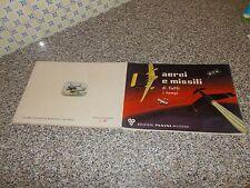 ALBUM AEREI E MISSILI PANINI 1965 COMPLETO ORIGINALE OTTIMO++ TIPO EDIS LAMPO