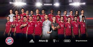 FC BAYERN MUNCHEN PICTURE POSTCARD TEAM BUNDESLIGA GERMANY MÜNCHEN MUNICH NEW !!