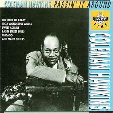 Coleman Hawkins Passin`It Around (Sweet Adeline) Jazz Time CD