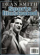 Sports Illustrated Magazine Tribute 2015 North Carolina Tar Heels DEAN SMITH